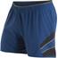 """PEARL iZUMi Pursuit 5"""" Hardloop Shorts Heren grijs/blauw"""